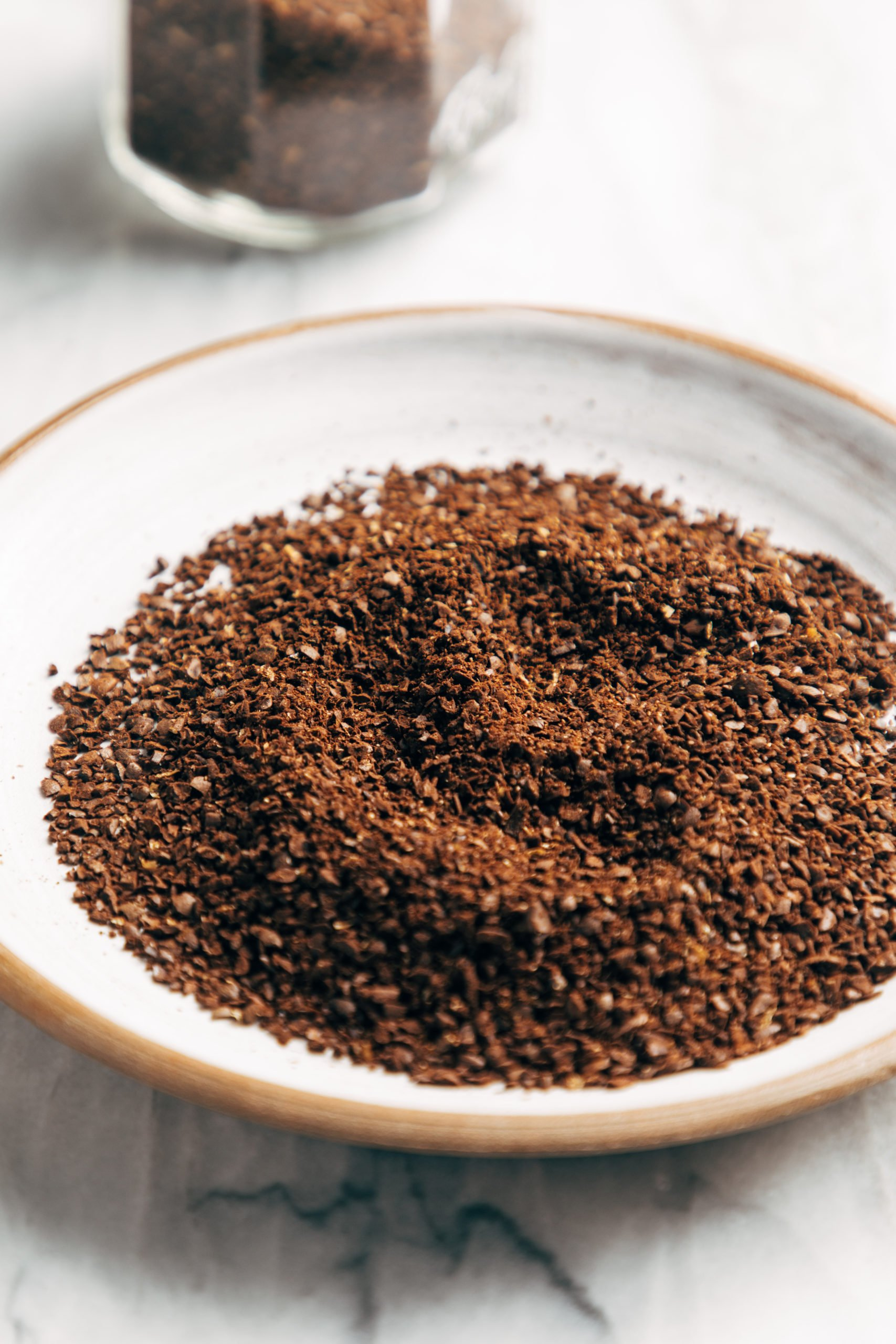 Coarse grind coffee beans for cold brew coffee