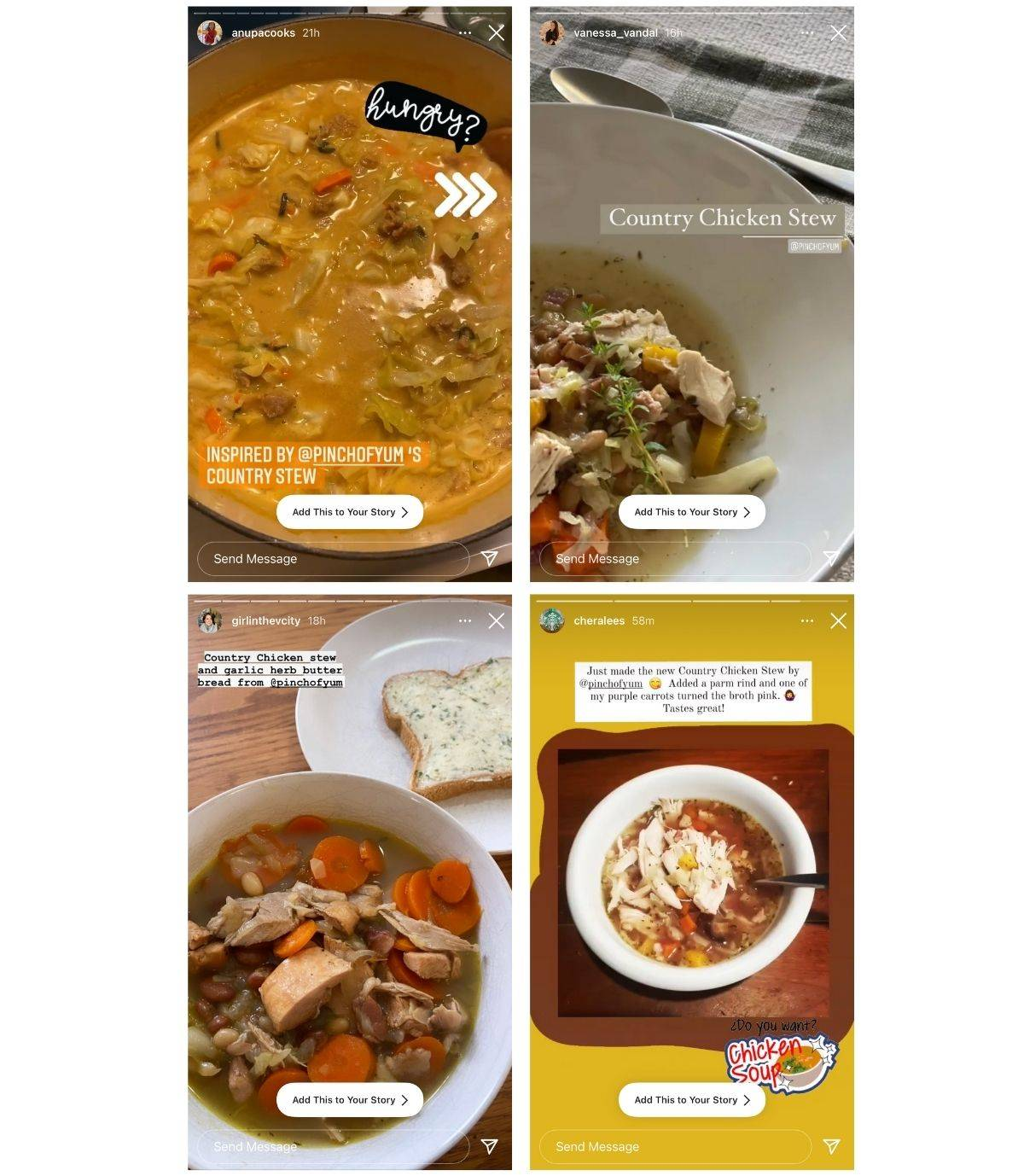 Reader images of the Chicken Country Stew recipe.